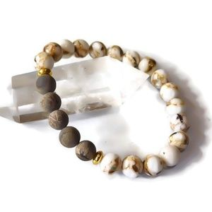 Oil Diffuser Gemstone Bracelet